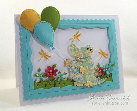 KC IO Patchwork Gator left