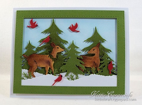 KC Impression Obsession Woodland Deer 1 center