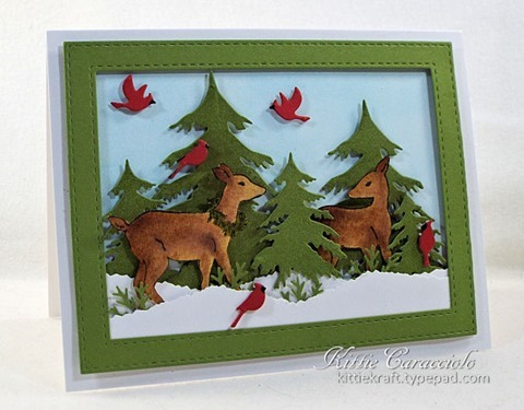 KC Impression Obsession Woodland Deer 1 left