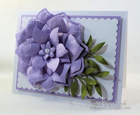 KC Hero Arts Paper Layering Swirl Flower 1 right