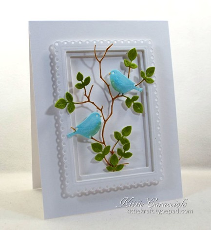 KC Elizabeth Craft Lovebirds 1 left