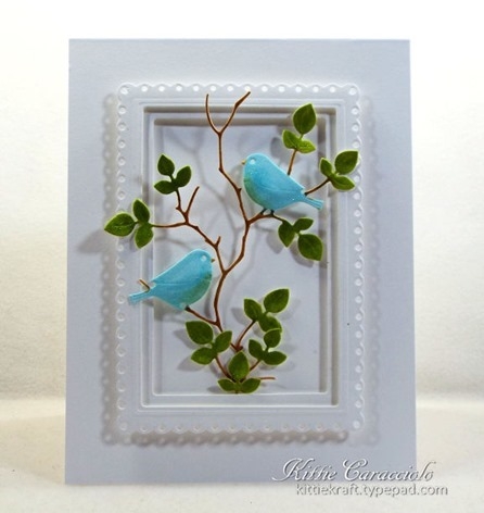KC Elizabeth Craft Lovebirds 1 cemter