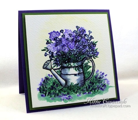 KC Art Impressions Watering Can 1 left