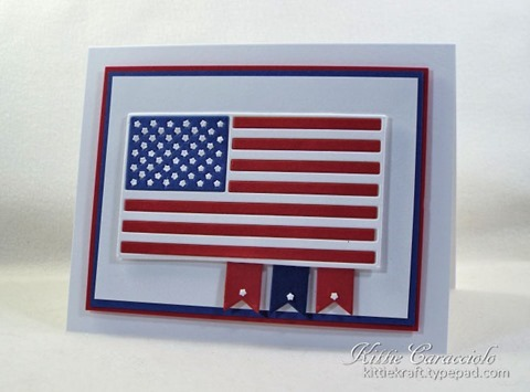 KC Impression Obsession US Flag 2 right