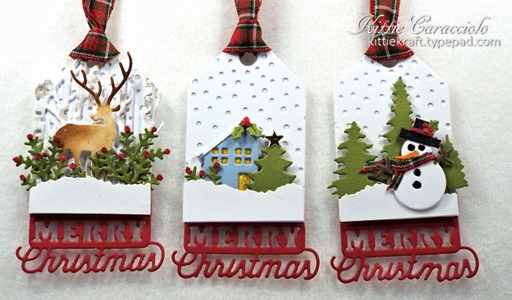 KC Impression Obsession Christmas Tags 4 Group