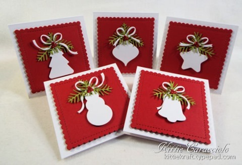 KC Impression Obsession Christmas Shaped Tags 1 group