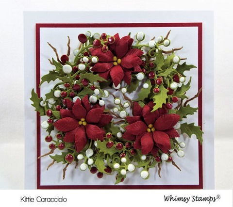 KC Whimsy Shapology Christmas Branch Set 1 center