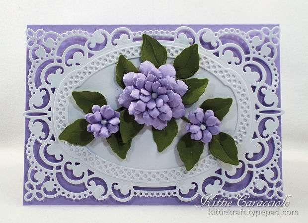 Learn how to make handmade paper flowers with die cuts
