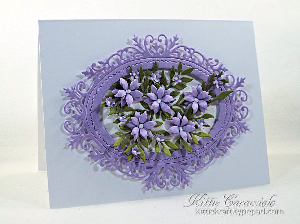 Would you like to learn to make die cut paper flowers