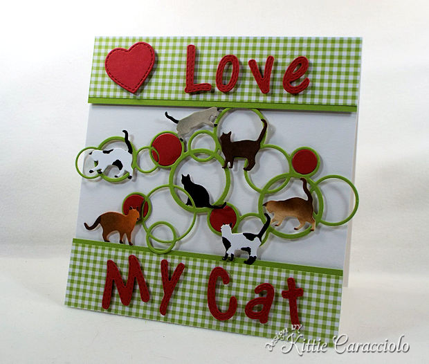 Die Cut Scene with Cats