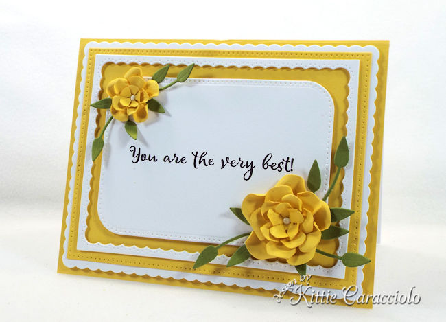 You are the very best sentiment is perfect to use for congratulations cards.