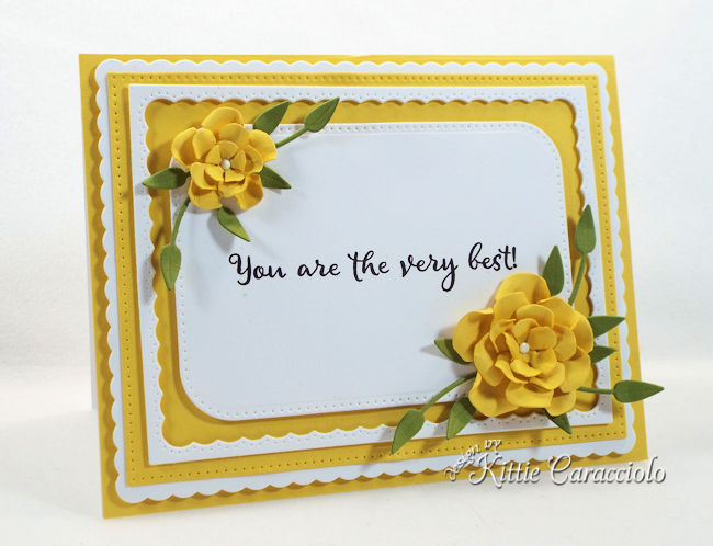 You are the very best sentiment is perfect to use for thank you cards.
