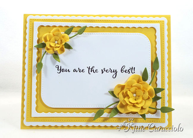 You are the very best sentiment is perfect to use on thank you cards.