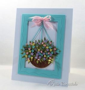 Flower Basket Die Cuts