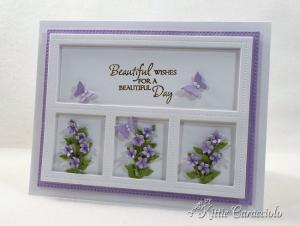 Framed Die Cut Flower Bouquets