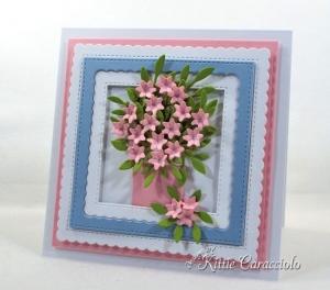 Die Cut Flower Arrangement