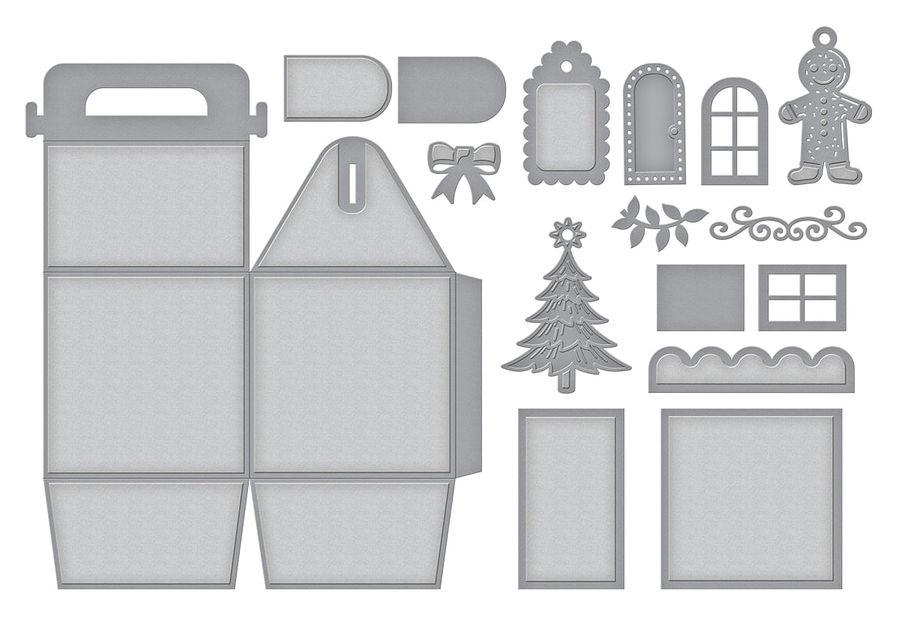 Charming Christmas Gift Box