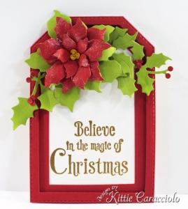 Die Cut Christmas Tags