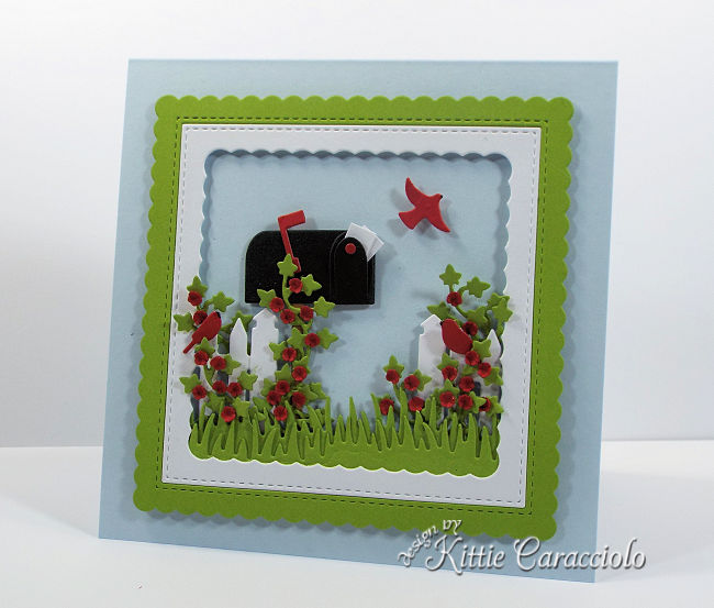 Come see how I made the Rubbernecker mailbox and pine tree forest cards.