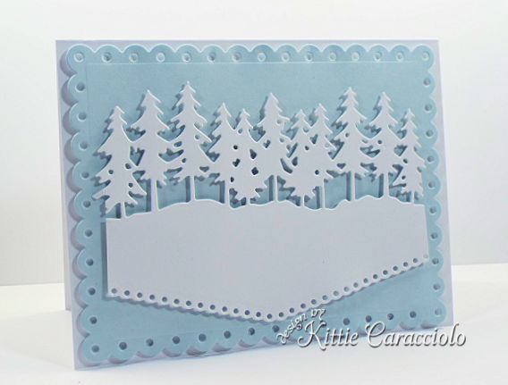 Come see how I made the scenic Rubbernecker mailbox and pine tree forest cards.