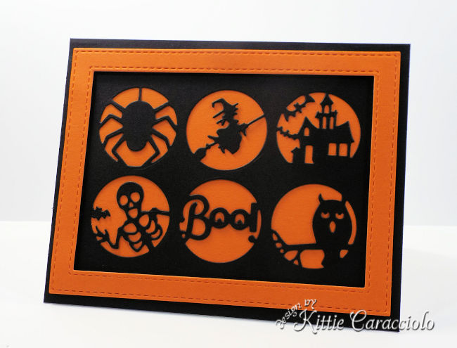 Come see how I made this fun Impression Obsession happy haunting Halloween card.