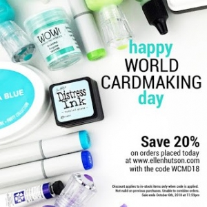World Card Making Day Sales