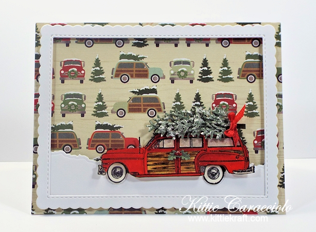 Come see how I made this fun Woody and Christmas tree card.