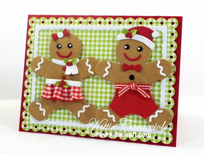 Come and see how I made the Mr. and Mrs. Gingerbread.