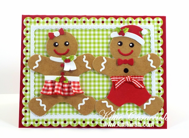 Come and see how I made the sweet Mr. and Mrs. Gingerbread.