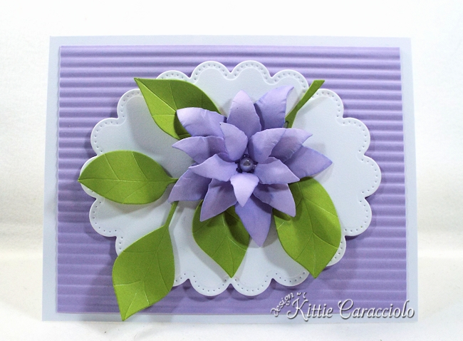 Come see how i made this die cut leaves and flower project.