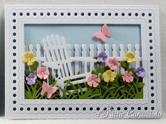 Come see how I made these lovely die cut flower and frame sample cards.