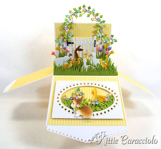 Come see how I made this Easter Pop Up Box Card.