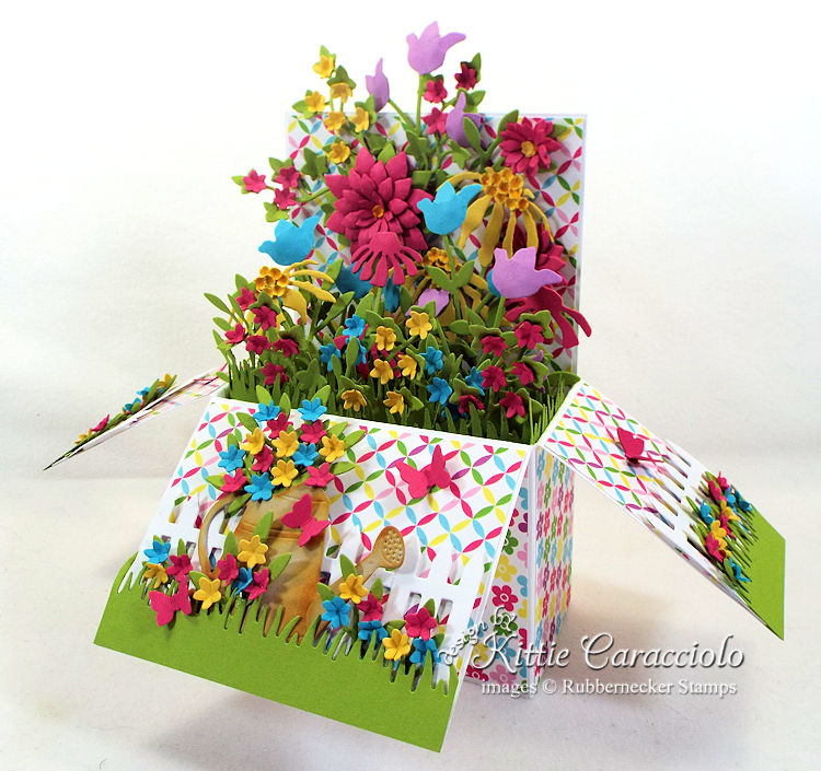 Come check out how I made this pop up flower garden box.