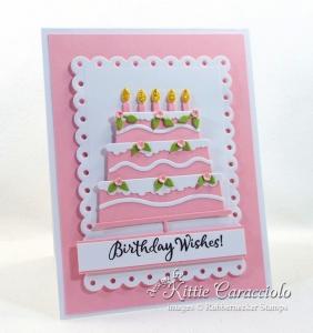 Die Cut Birthday Cake