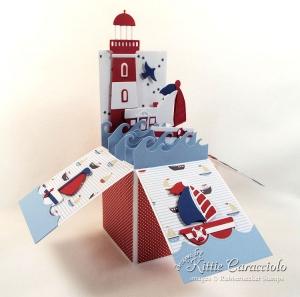 Lighthouse Pop Up Box Card