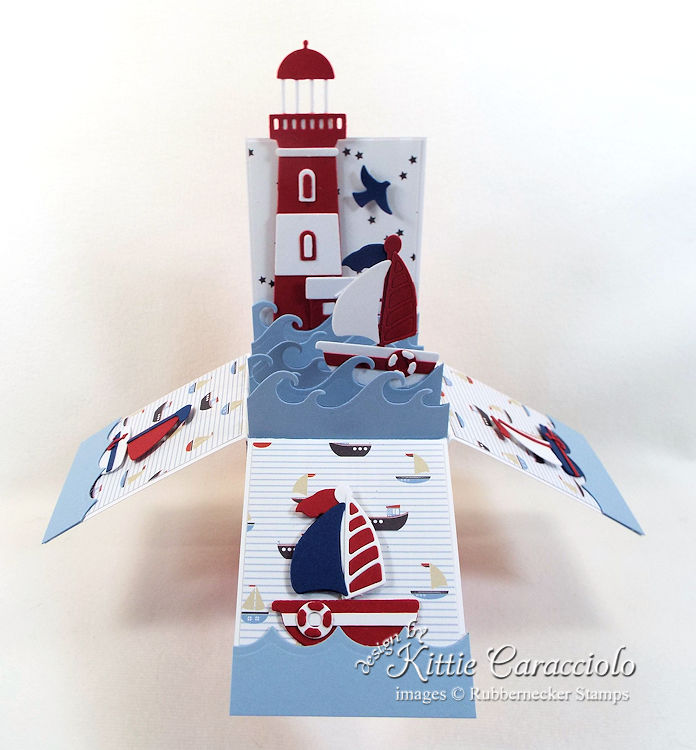 Come over to my blog to see how I made this lighthouse pop up box card.