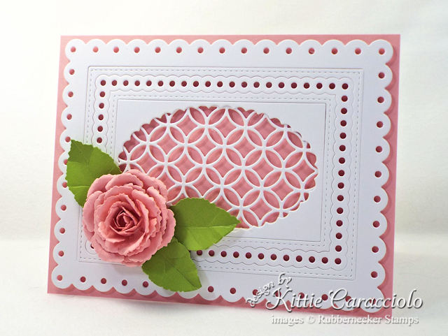 Come over to my blog to see my step by step die cut rose tutorial.
