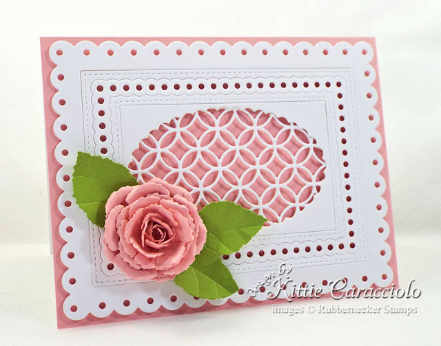 Come over to my blog to see my step by step photo die cut rose tutorial.