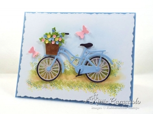 Clean and Simple Bicycle Card