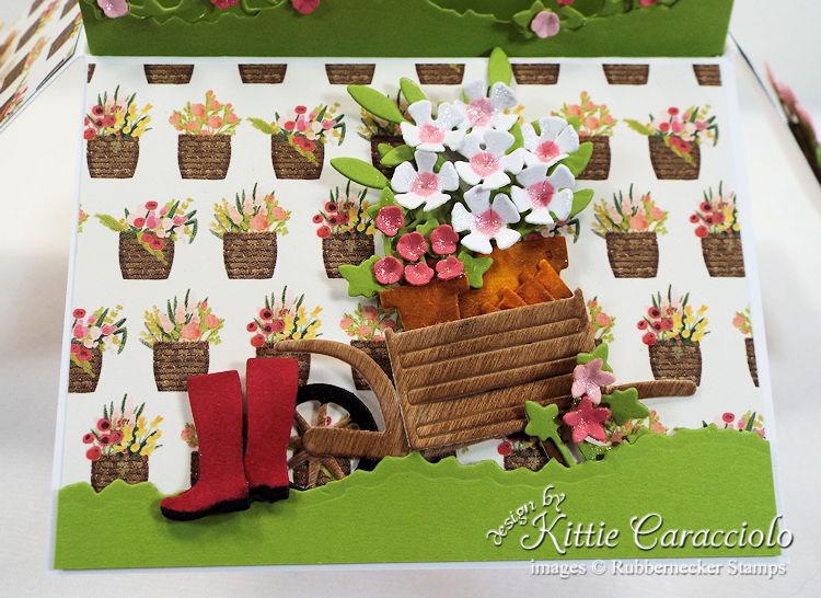 KC Rubbernecker Pop Up Flower Cart center flap