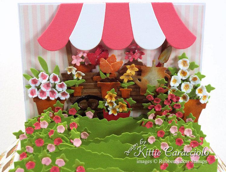 KC Rubbernecker Pop Up Flower Cart close cart