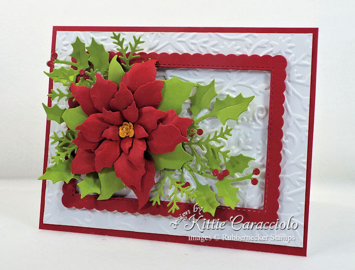 Come see how I made this Christmas in July Poinsettia.