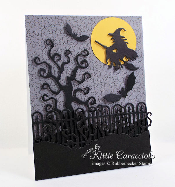 Come check out how I made this simple spooky witch halloween card.