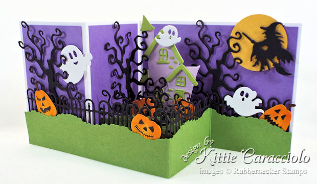 Come see how I made this Z Fold Box Halloween card.