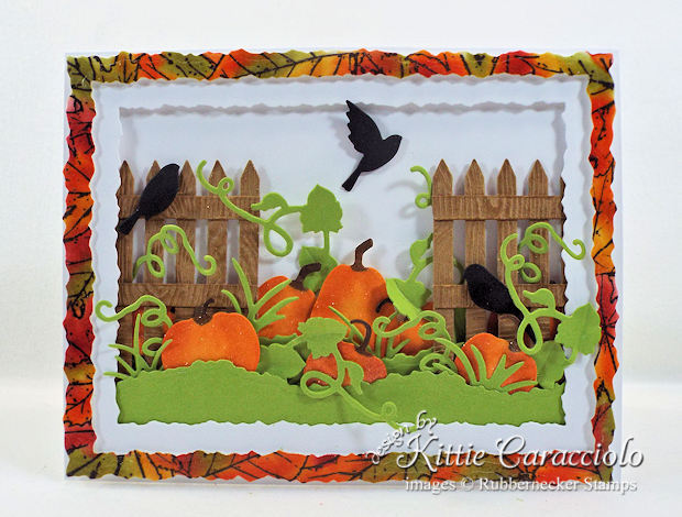Come see how I made this colorful fall pumpkin patch card.