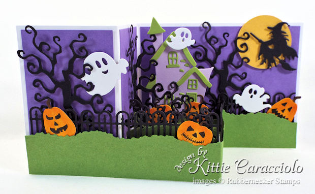 Come see how I made this fun Z Fold Box Halloween card.