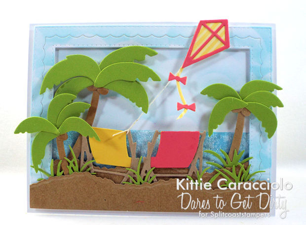 Come see how I made this relaxing palm trees beach scene card.