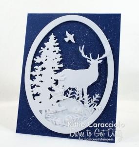 Splatter Snowy Background