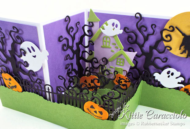 Come see how I made this spooky Z Fold Box Halloween card.