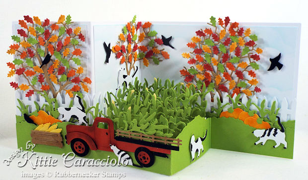Come over to my blog for fall Z fold card ideas.